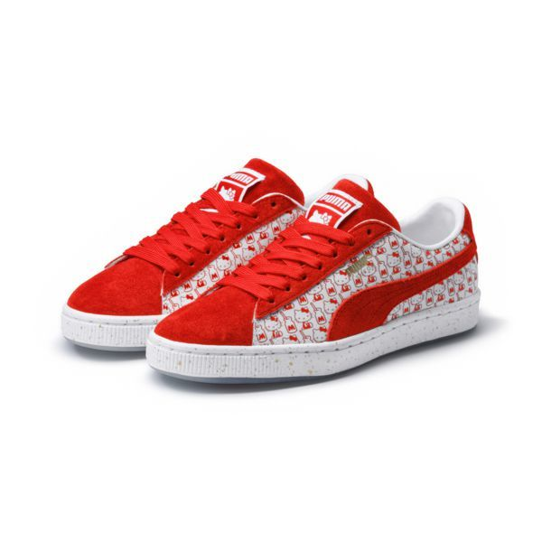 Basket Hello It Heel SuedeTo X With Puma Kitty OPikXZu