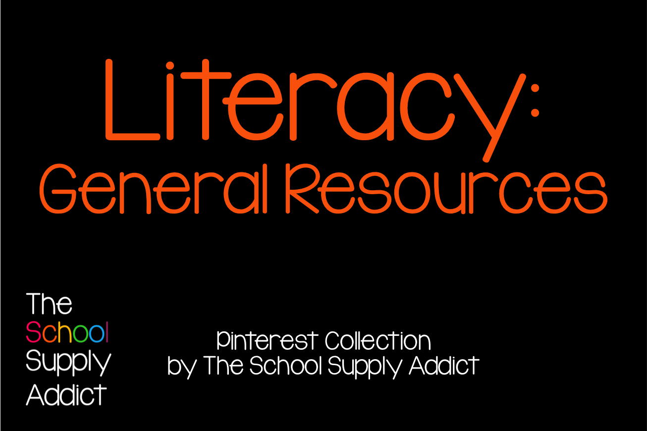 Pinterest Collection: General Resources for Literacy