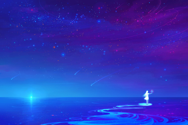beautiful night sky scenery wwwpixsharkcom images