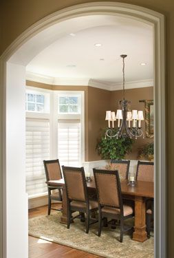 Bay Window In Diningroom