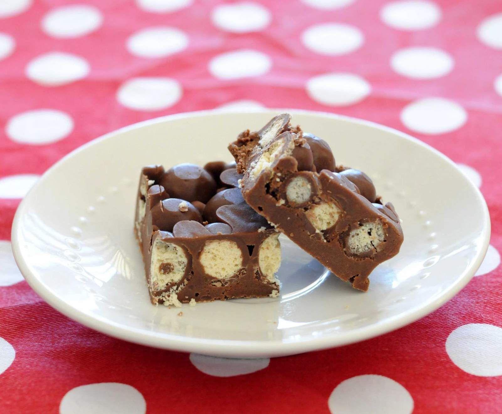 Chocolate Malteser Fudge Recipe Fudge, Thermomix