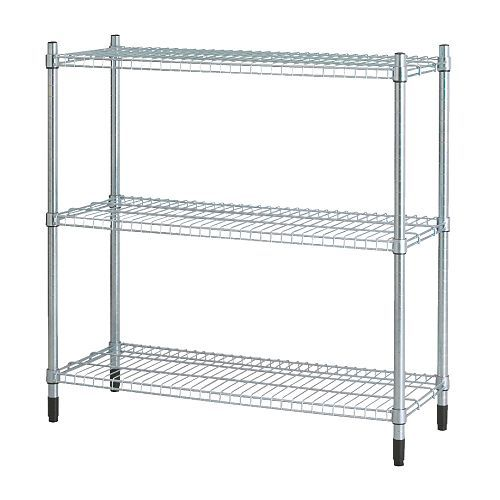 Omar Shelving Unit Ikea Easy To Emble No Tools Required Can Be Added On Vertically In Order Provide More Storage E