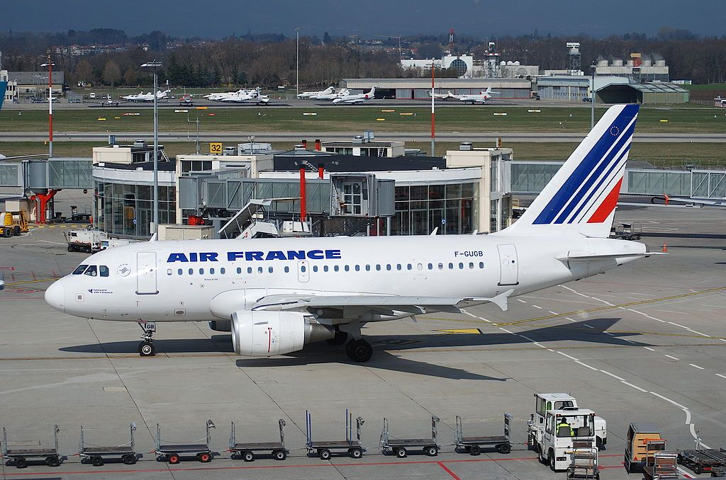 Air France Fleet Airbus A318100 Details and Pictures