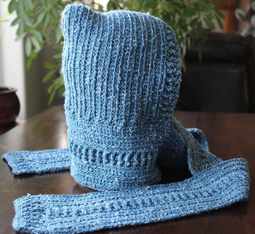 Ravelry: Mother-Hood pattern by Merri Purdy,  free