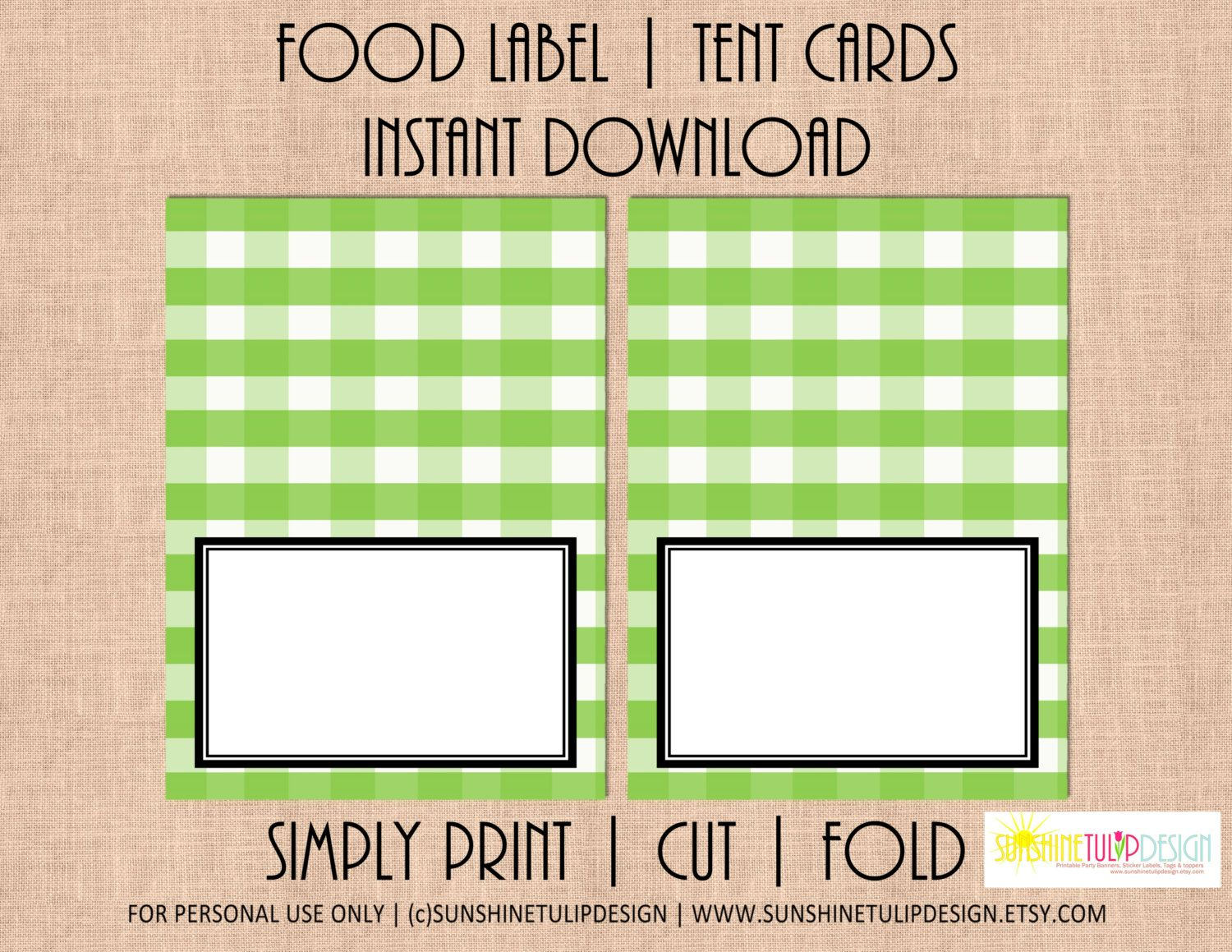 Printable Buffalo Plaid Check Printable Plaid Apple Green and White Table Tent Cards Labels by  sc 1 st  Pinterest & Printable Buffalo Plaid Check Printable Plaid Apple Green and ...