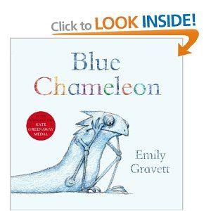 Blue Chameleon - Pre to Kinder