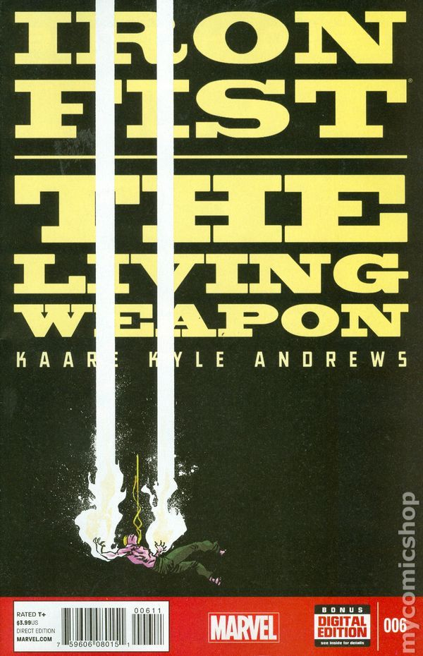 Iron Fist The Living Weapon (2014) 6  Marvel Comics Modern Age Comic book covers Super Heroes  Villians
