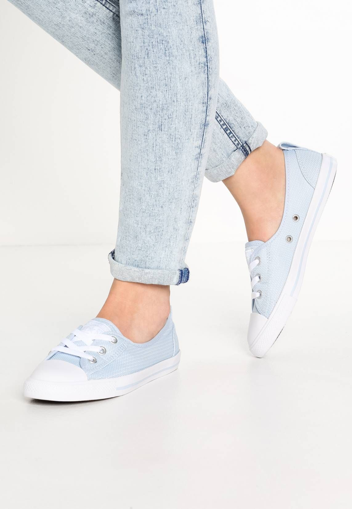 a089be64513e Converse. CHUCK TAYLOR ALL STAR BALLET LACE MICRO DOT KNIT - Trainers -  porpoise
