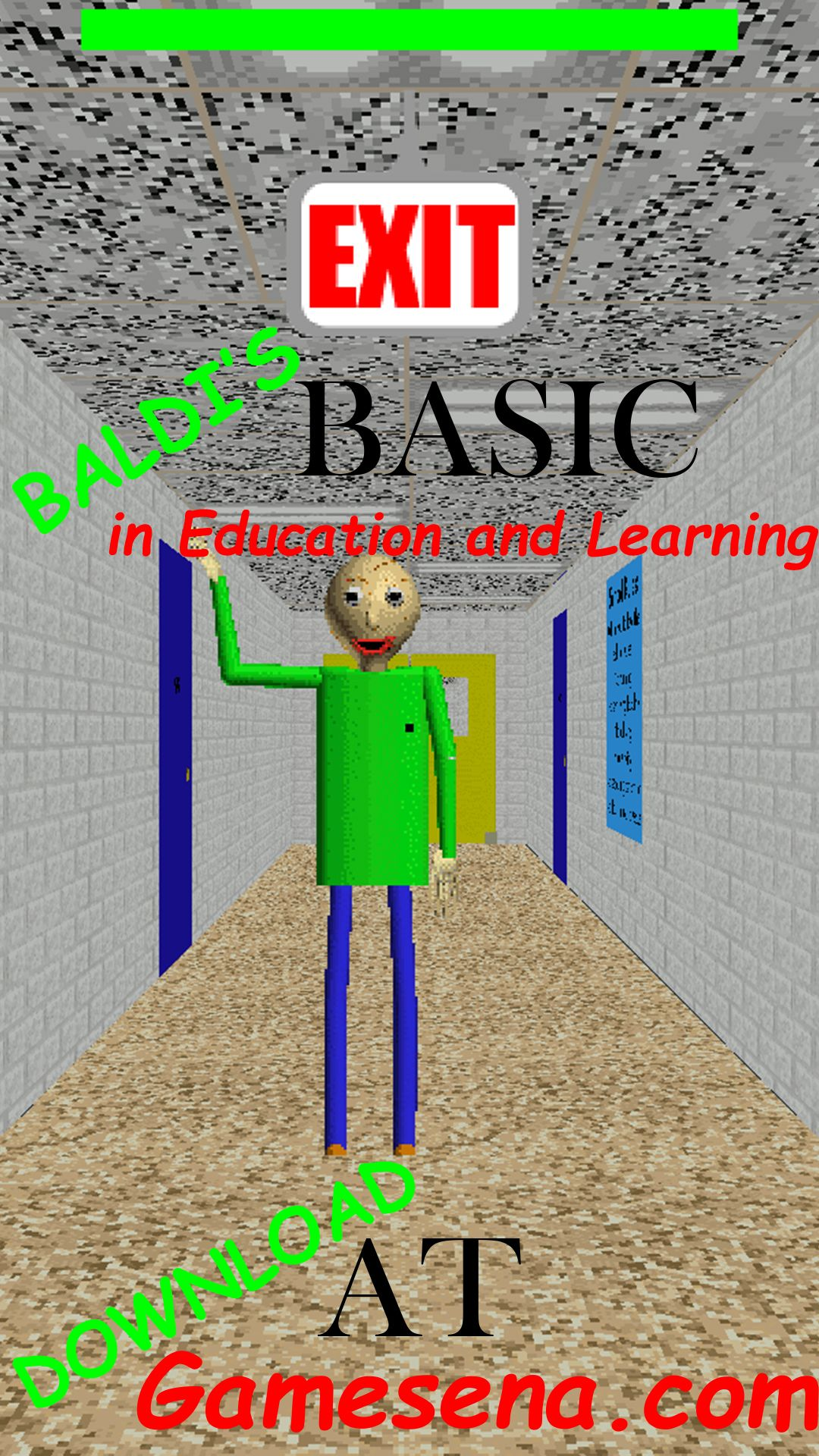 Baldi's Basics In Education and Learning may sound like an
