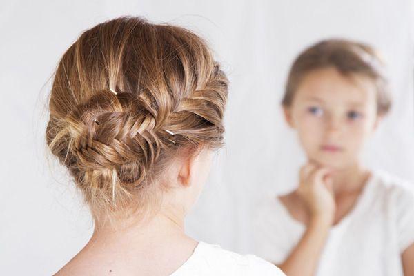 des coiffures pour petites filles qui vont vous faire craquer coiffure petite fille mariage. Black Bedroom Furniture Sets. Home Design Ideas