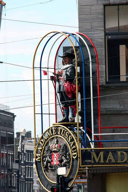 """Madame Tussand - Amsterdam.  Include in your #Amsterdam #travel #BucketList. Visit """"City is Yours"""" http://www.cityisyours.com/explore to Discover and collect amazing bucket lists created by local experts. #list #local"""