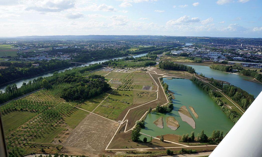 The Natural Park Of Pelissier By Atelier Arcadie Landzine Natural Park Landscape Architecture Park
