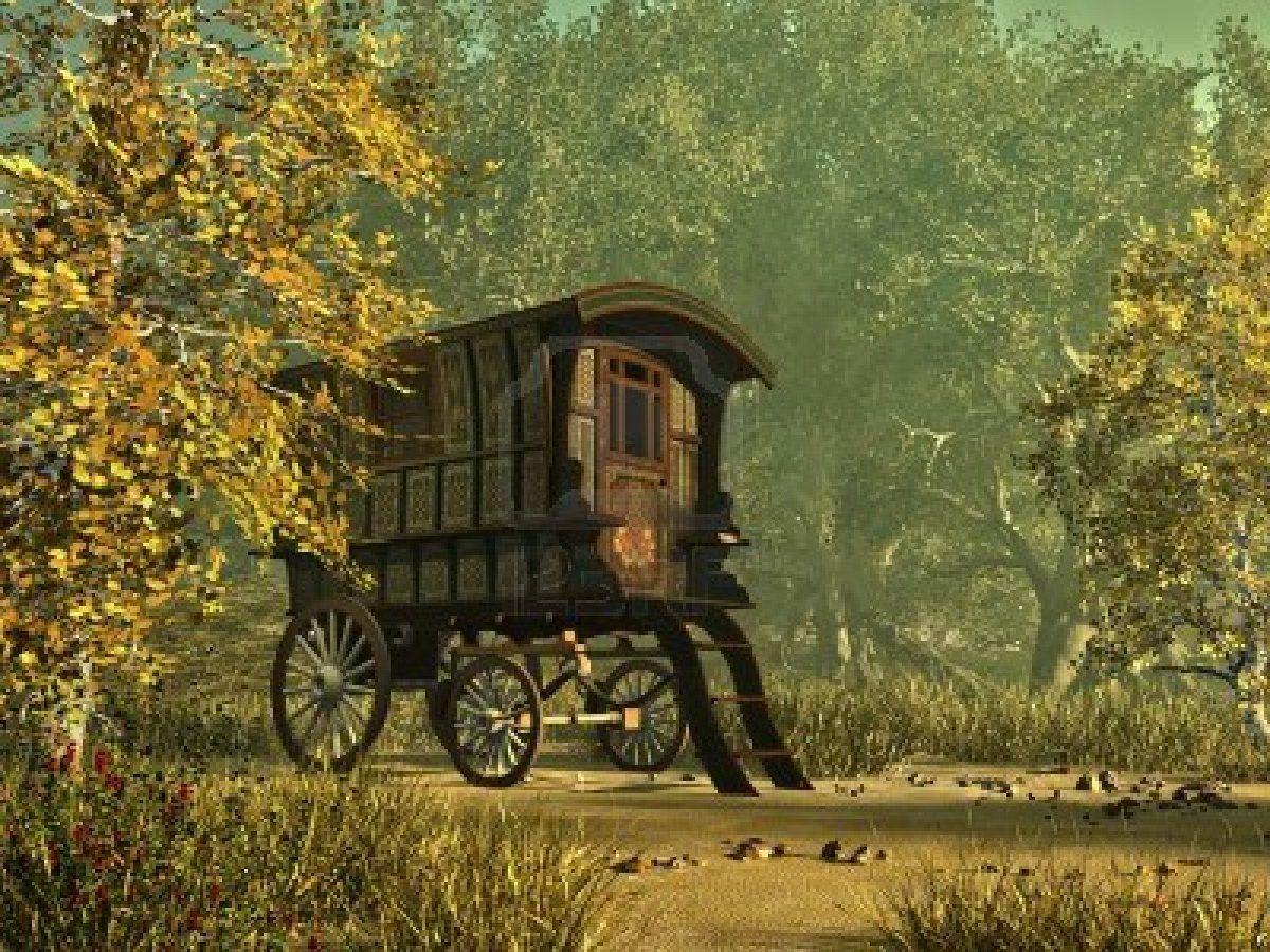 ℒ~gypsy.vardos.caravans.wagons.rouleotes https://www.facebook.com/LynBanas.TheIntentionalGardener