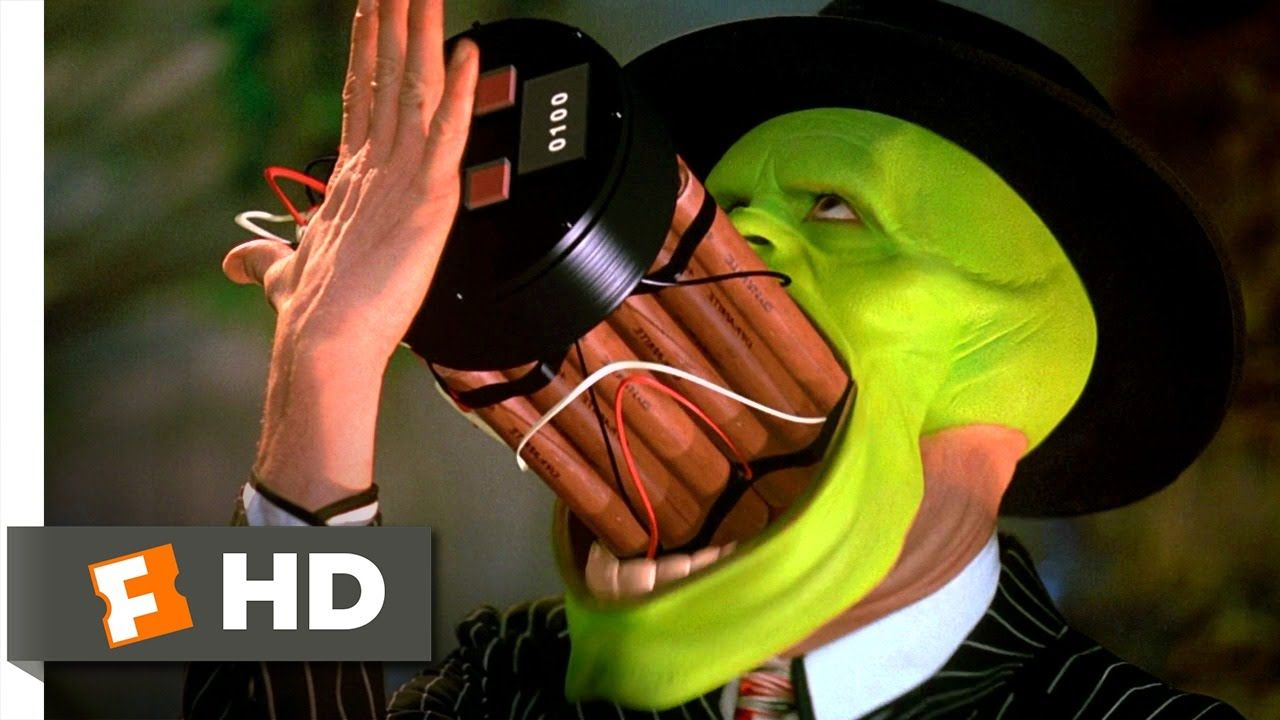 The Mask (5/5) Movie CLIP - That's A Spicy Meatball! (1994) HD ...