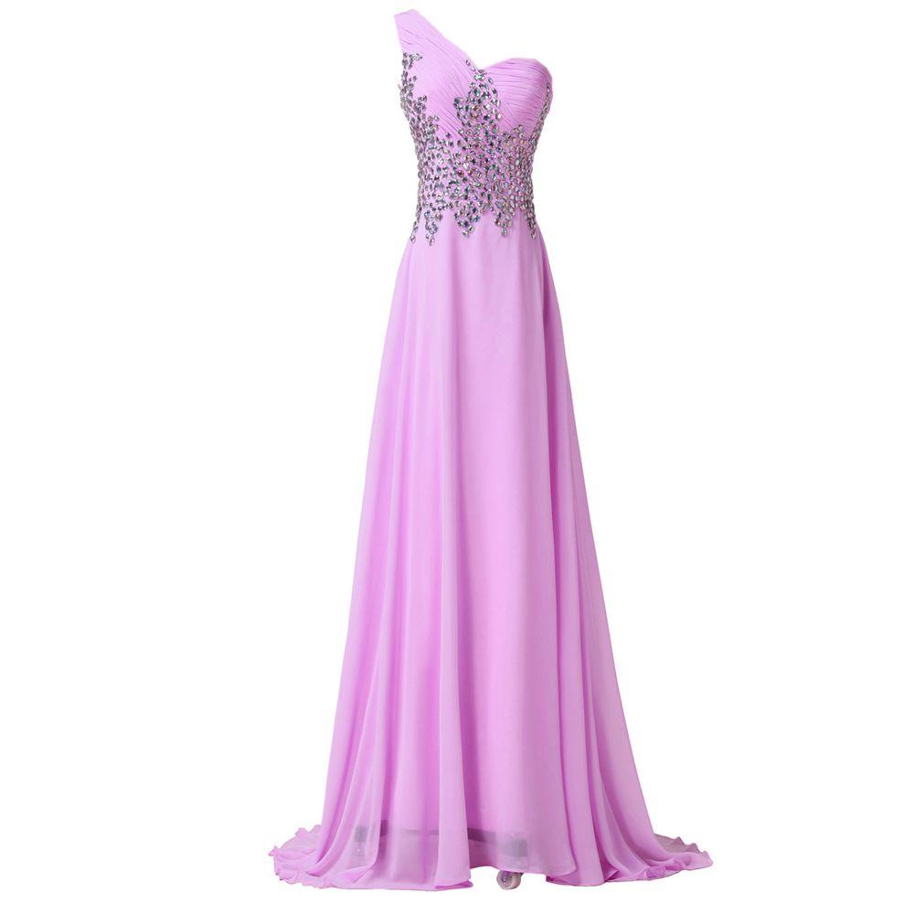 Encontrar Más Vestidos de baile Información acerca de Elegante de La ...