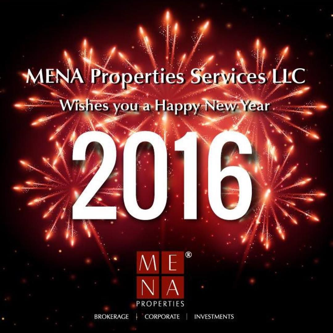 A Successful...Prosperous 2016! #HAPPYNEWYEAR #MENAProperties #realestate #realestatedubai #myDubai #follow originally shared on Instagram via ArabianEscapes.com by menaproperties #Apartments #Villas #Properties #Property #ArabianEscapes #DubaiProperties #RealEstateDubai #Dubai #UAE #AbuDhabi #PropertyRentals