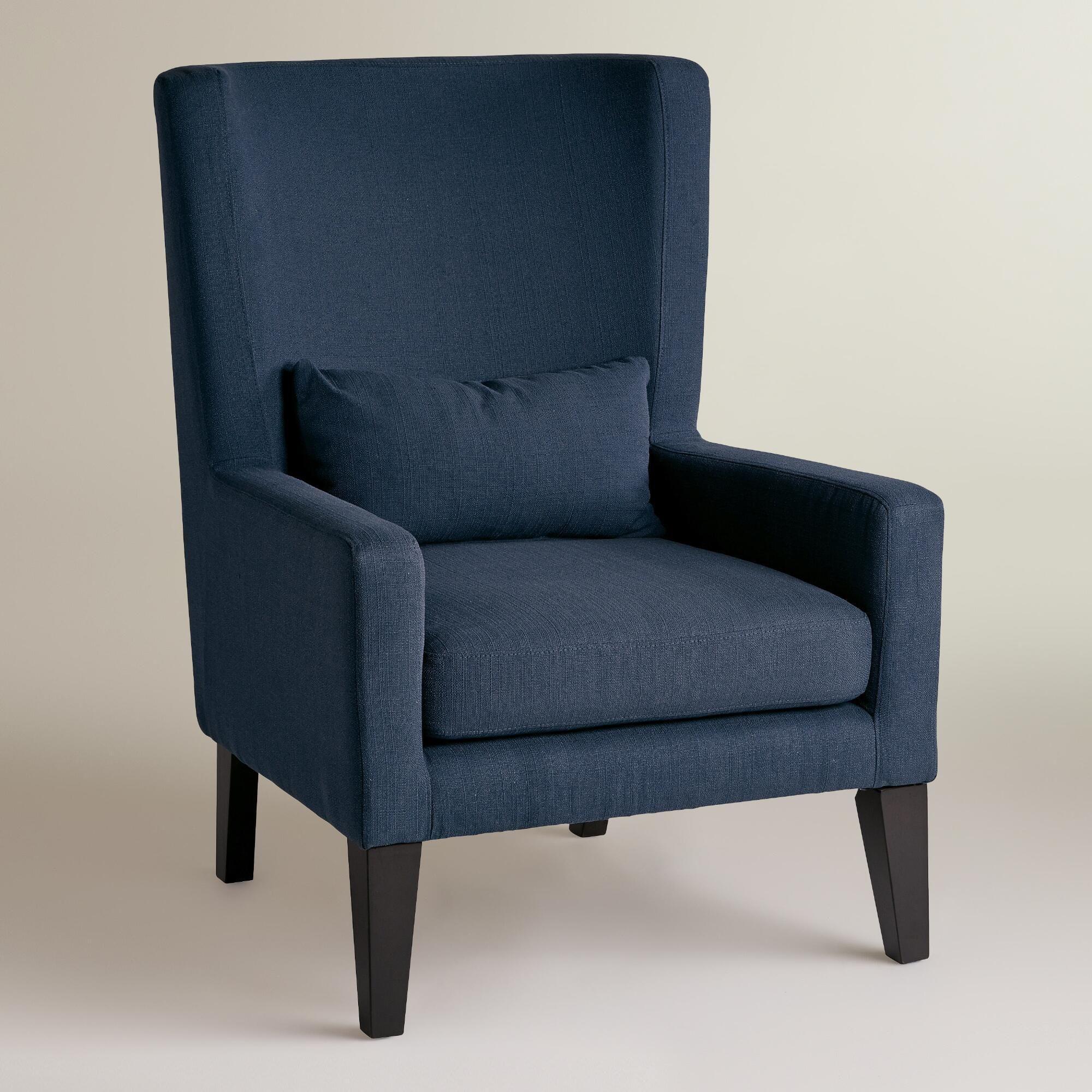 indigo blue triton high back chair  high back chairs