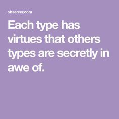 The Most Lovable Thing About Each Myers-Briggs Per
