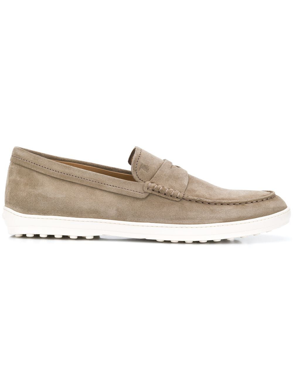 678b813581b TOD S TOD S THICK SOLE LOAFERS - NEUTRALS.  tods  shoes