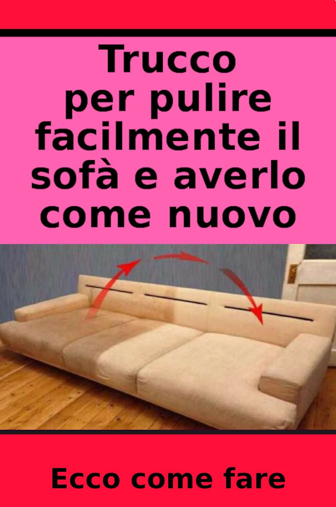 Come Pulire Il Divano pin by micaela pizzo on pulizie | cleaning household
