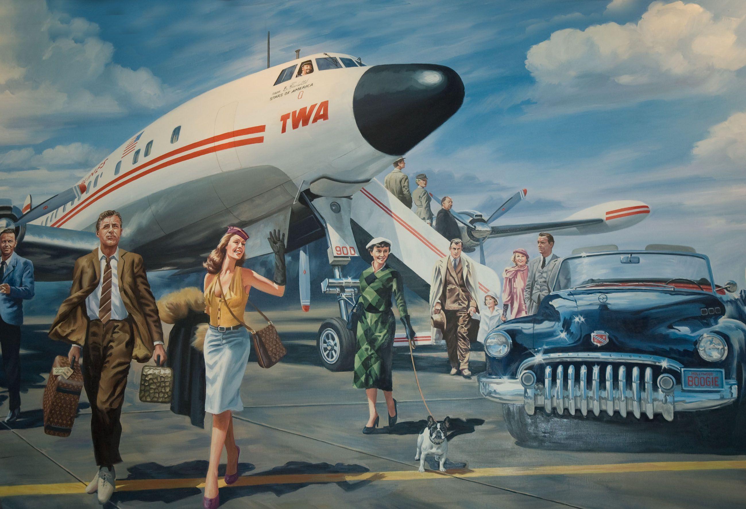 постеры с самолетами