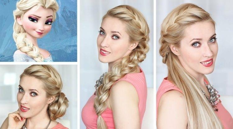 Elsas Flechtzopf oder die Hochsteckfrisur stylen