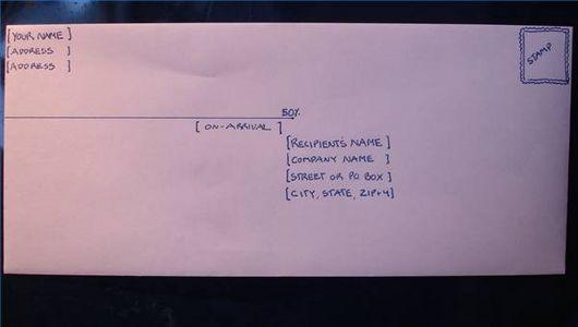 How To Write A Professional Mailing Address On An Envelope Ehow Envelope Format Addressing Envelopes Letter Addressing