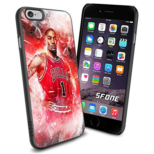 NBA Basketball Player Derrick Martell Rose, Cool iPhone 6 Smartphone Case Cover Collector iphone TPU Rubber Case Black Phoneaholic http://www.amazon.com/dp/B00WFA0OB8/ref=cm_sw_r_pi_dp_WXMpvb1NNJ0JV