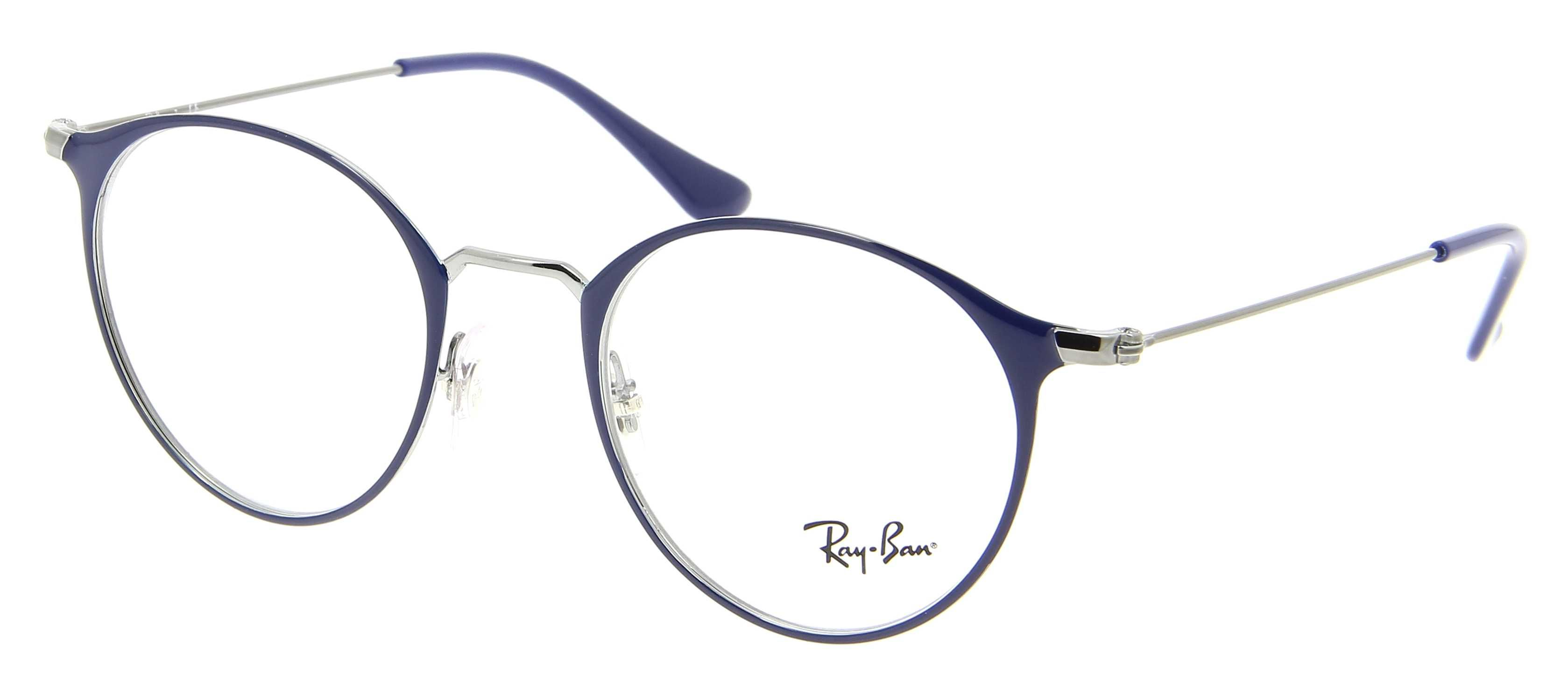 monture ray ban homme vue
