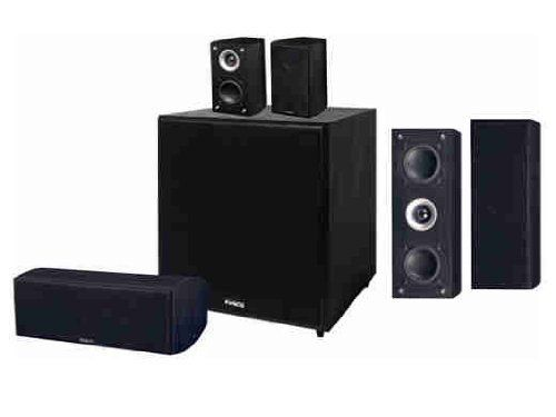 Pinnacle Speakers S Fit Sys 7500 Audiophile Home Theater Speaker System Black By Pinnacle Spea Home Theater Speaker System Audiophile Speakers Speaker Design