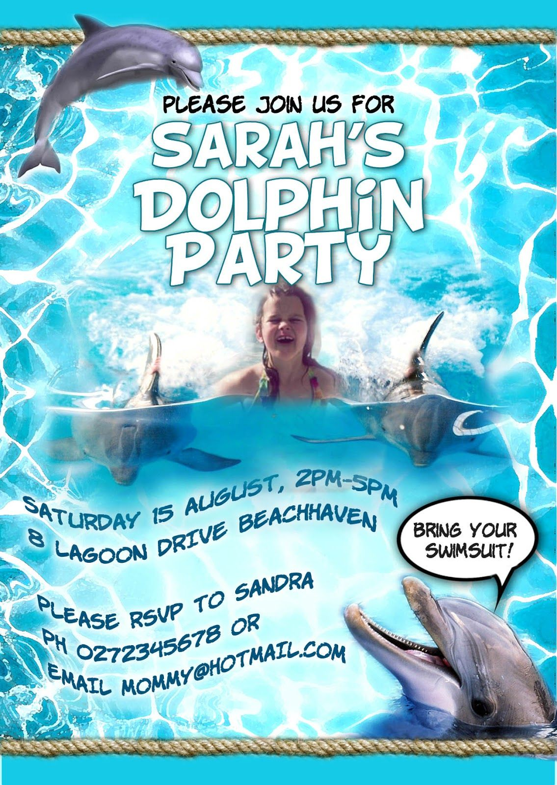 Free kids party invitations dolphin party invitation new kids free kids party invitations dolphin party invitation new filmwisefo Gallery