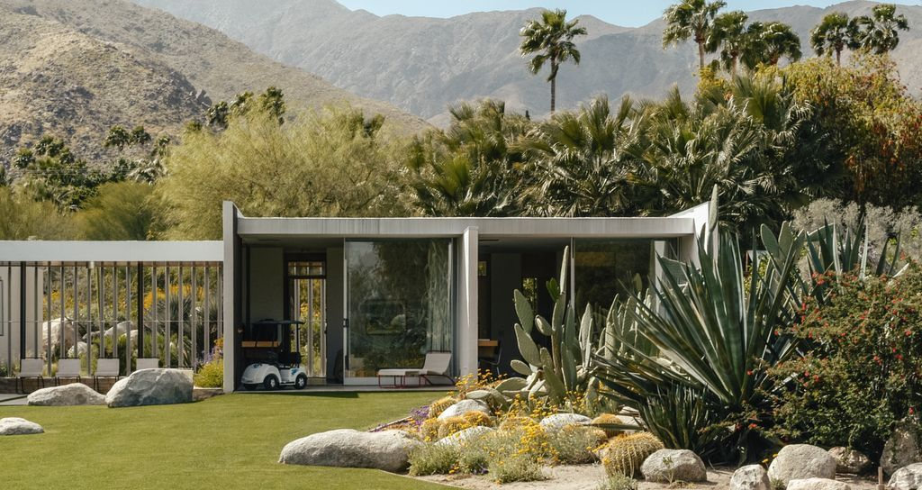 Galer a de cl sicos de arquitectura casa kaufmann for Diseno exterior casa contemporanea