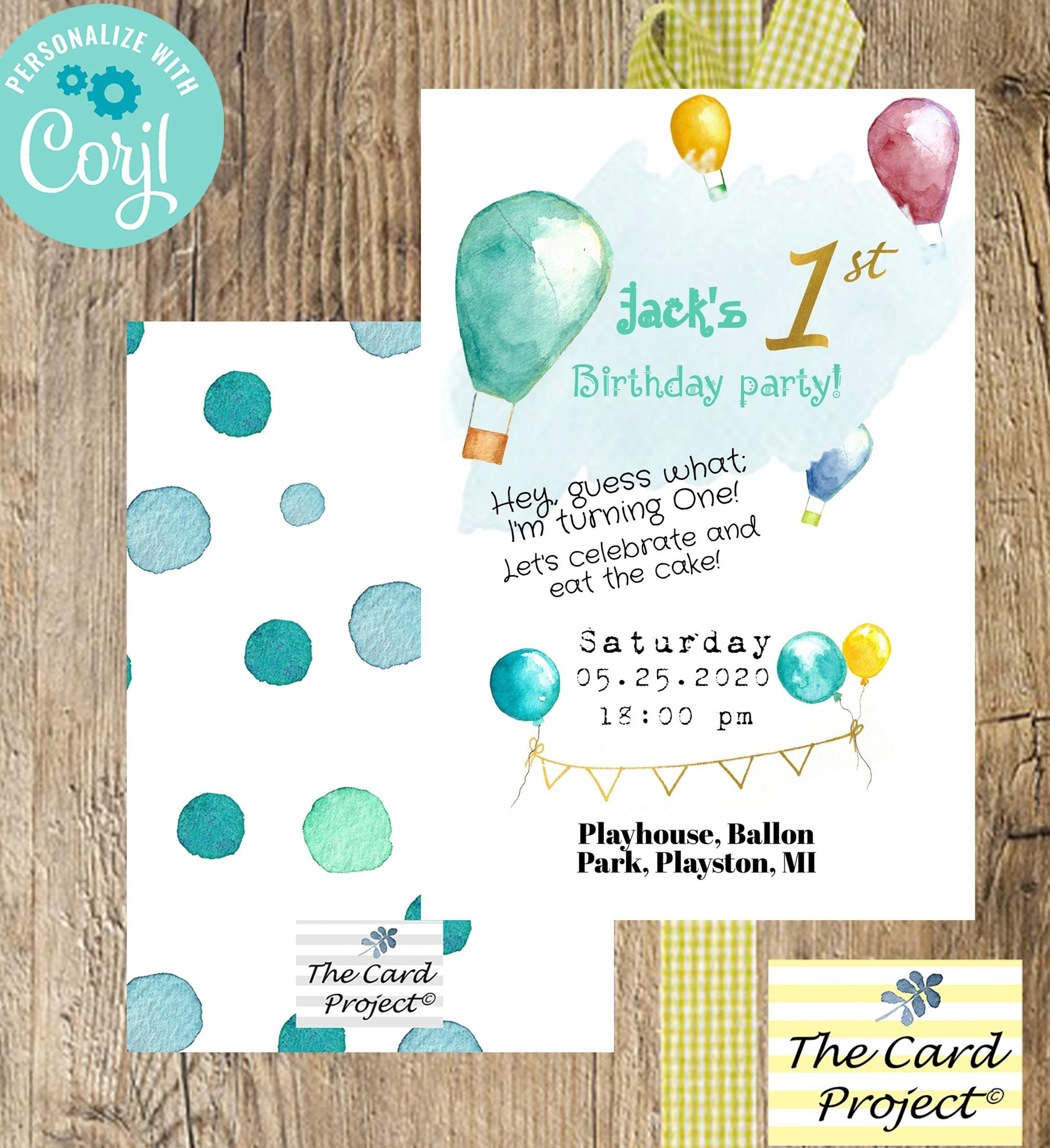Pin στον πίνακα Virtual Birthday Invitations