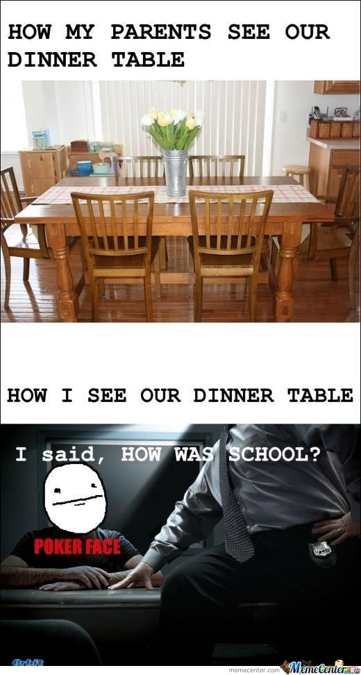 The Dinner Table Funny Relatable Memes Funny Memes Funny