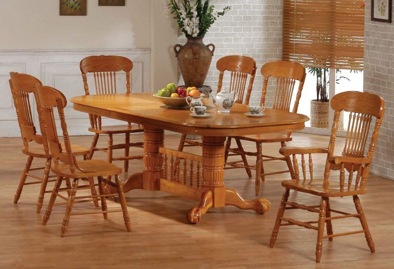 Oak Dining Table And Chairs Design Ideas  Dining Room Decoration Interesting Oak Dining Room Decorating Inspiration