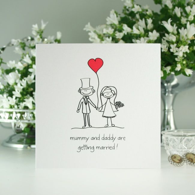 Perfect Pair Mummy And Daddy Wedding Invitation