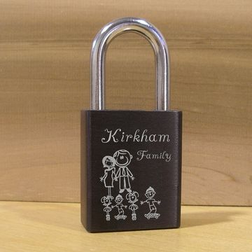 Unique gift for neighbors and friends.  Pretty cute...Custom Engraved Love padlocks  www.lovelock-itz.com