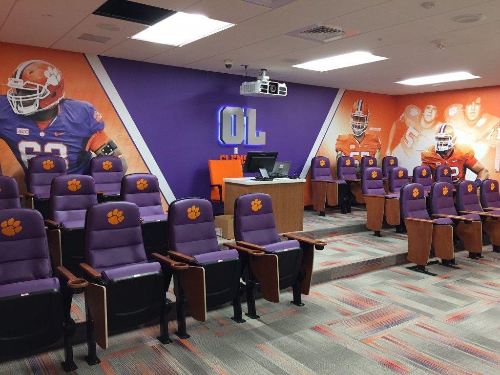 Clemson opens amenityrich new football facility stadium