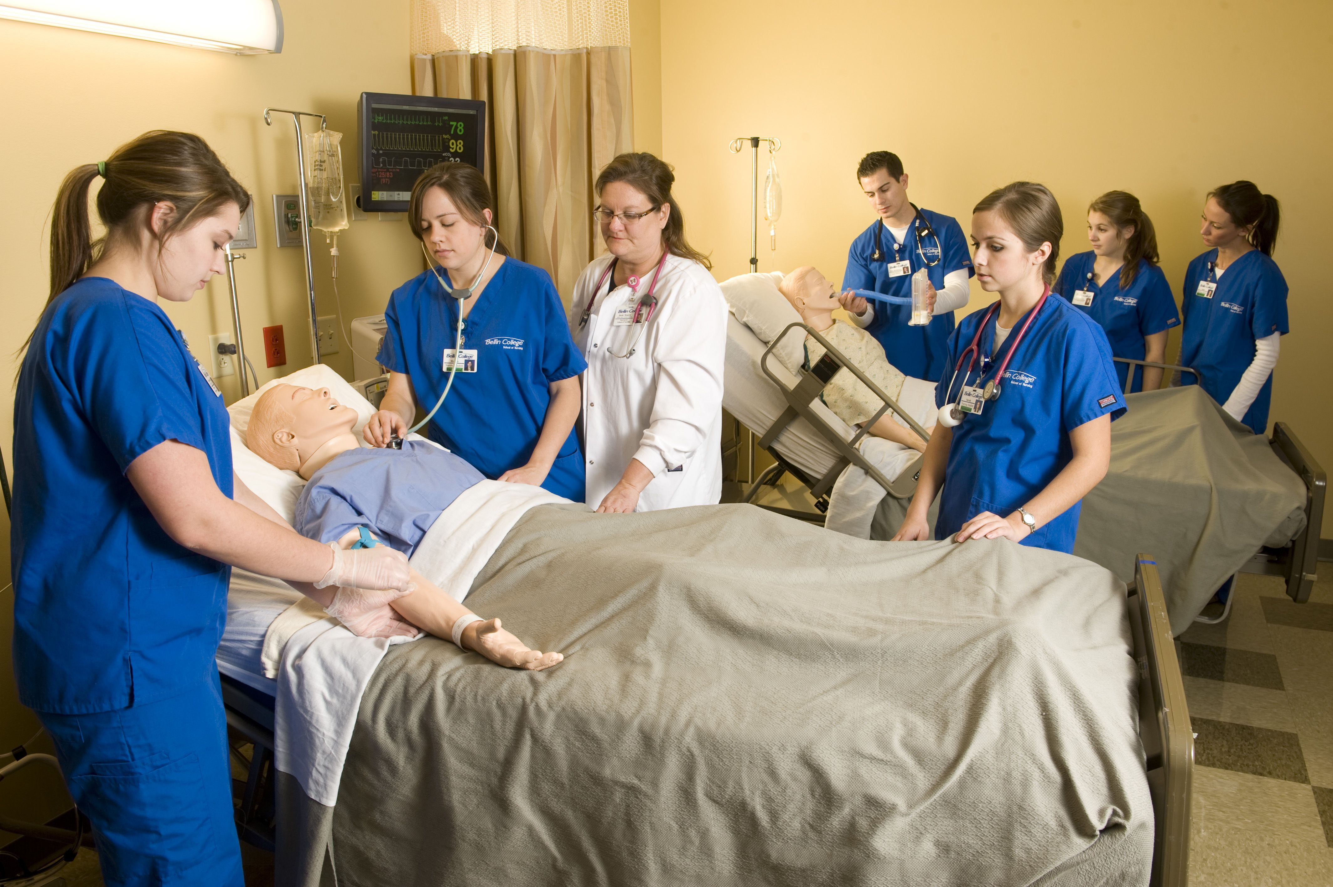 Health sciences resource center nursing skills lab
