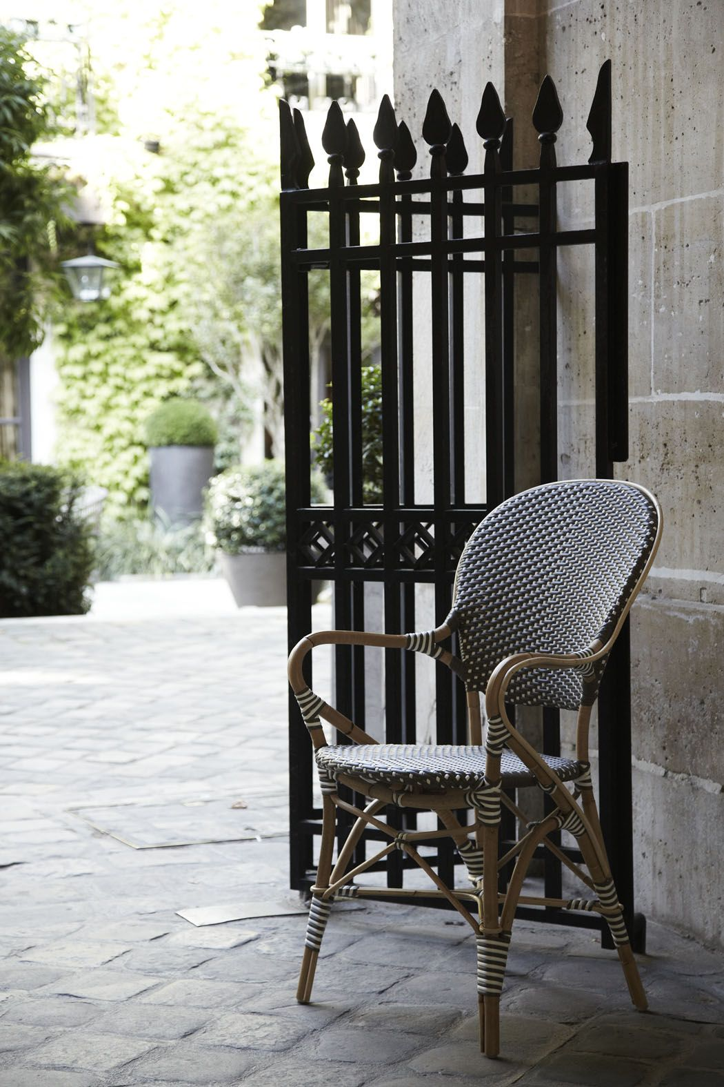 French Bistro Decor Sika Design Isabell Armchair From The Affaire Collection This