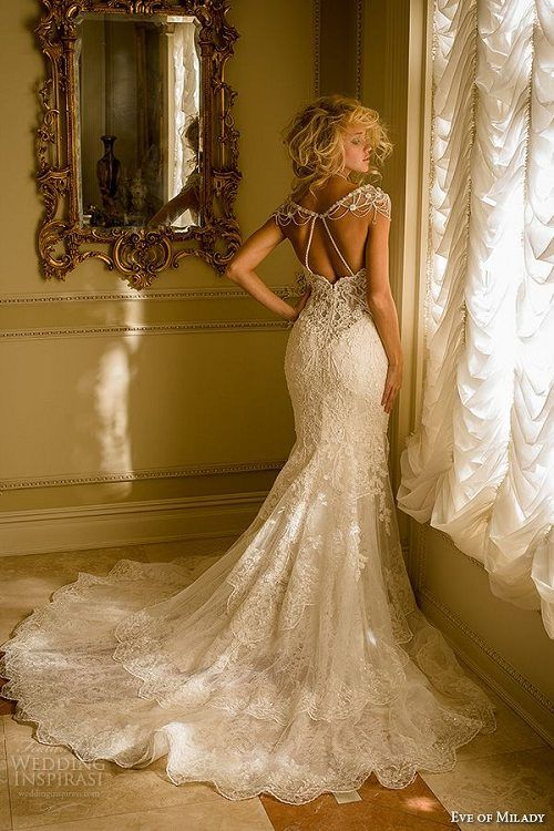 100 Most-Pinnned Mermaid Wedding Dresses | Mermaid wedding dresses ...