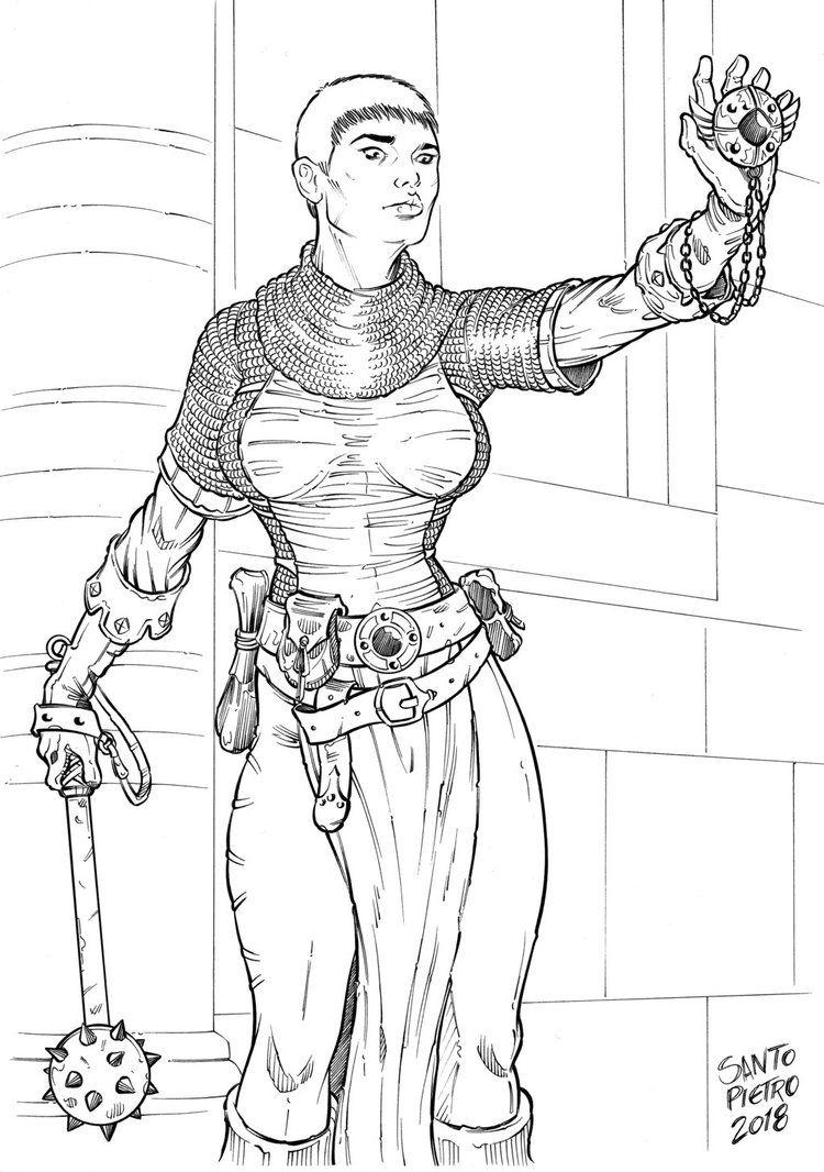 priestess linearthttpswwwdeviantartarea283