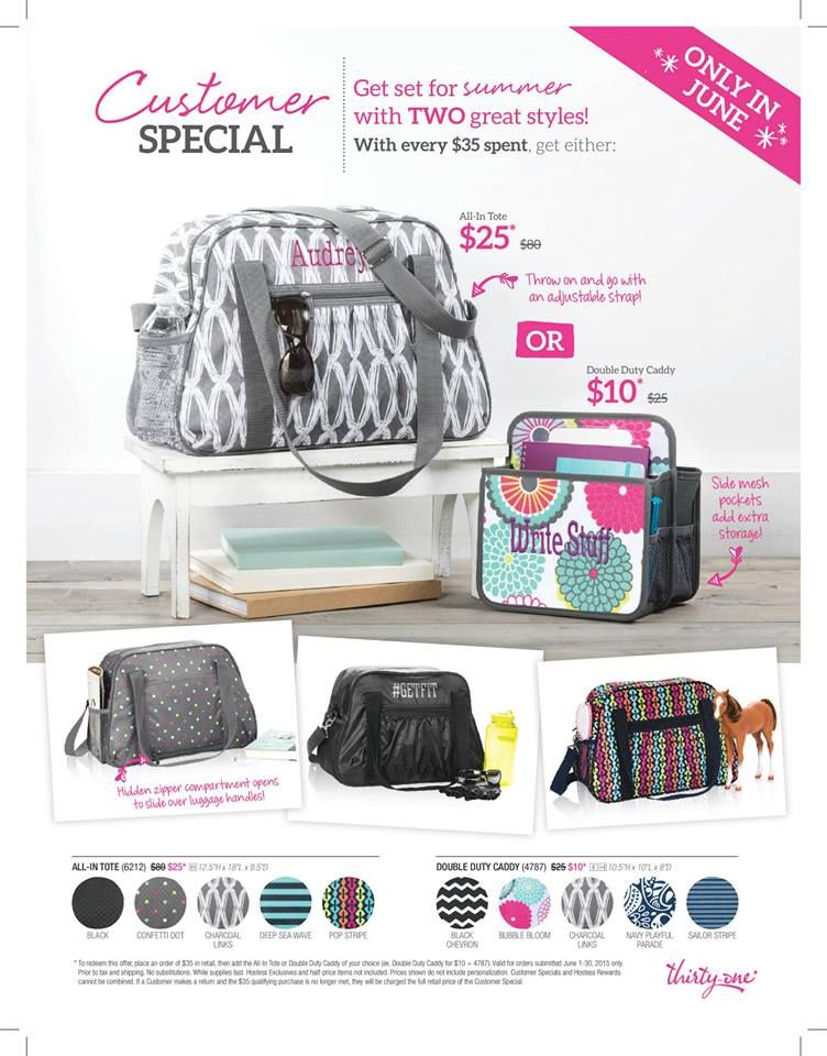June Special  Tote, All in Tote, Bag, travel, color options