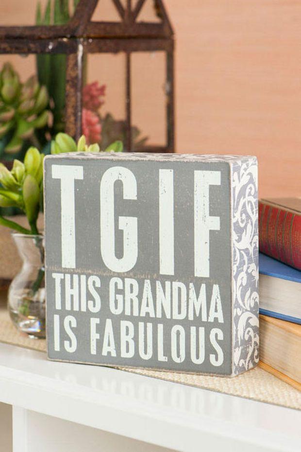Grandma is Fabulous | Christmas present for Grammy ...