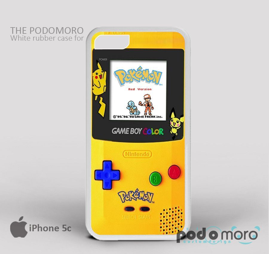 Gameboy Pokemon Tittle for iPhone 4/4S, iPhone 5/5S, iPhone 5c, iPhone 6, iPhone 6 Plus, iPod 4, iPod 5, Samsung Galaxy S3, Galaxy S4, Galaxy S5, Galaxy S6, Samsung Galaxy Note 3, Galaxy Note 4, Phone Case