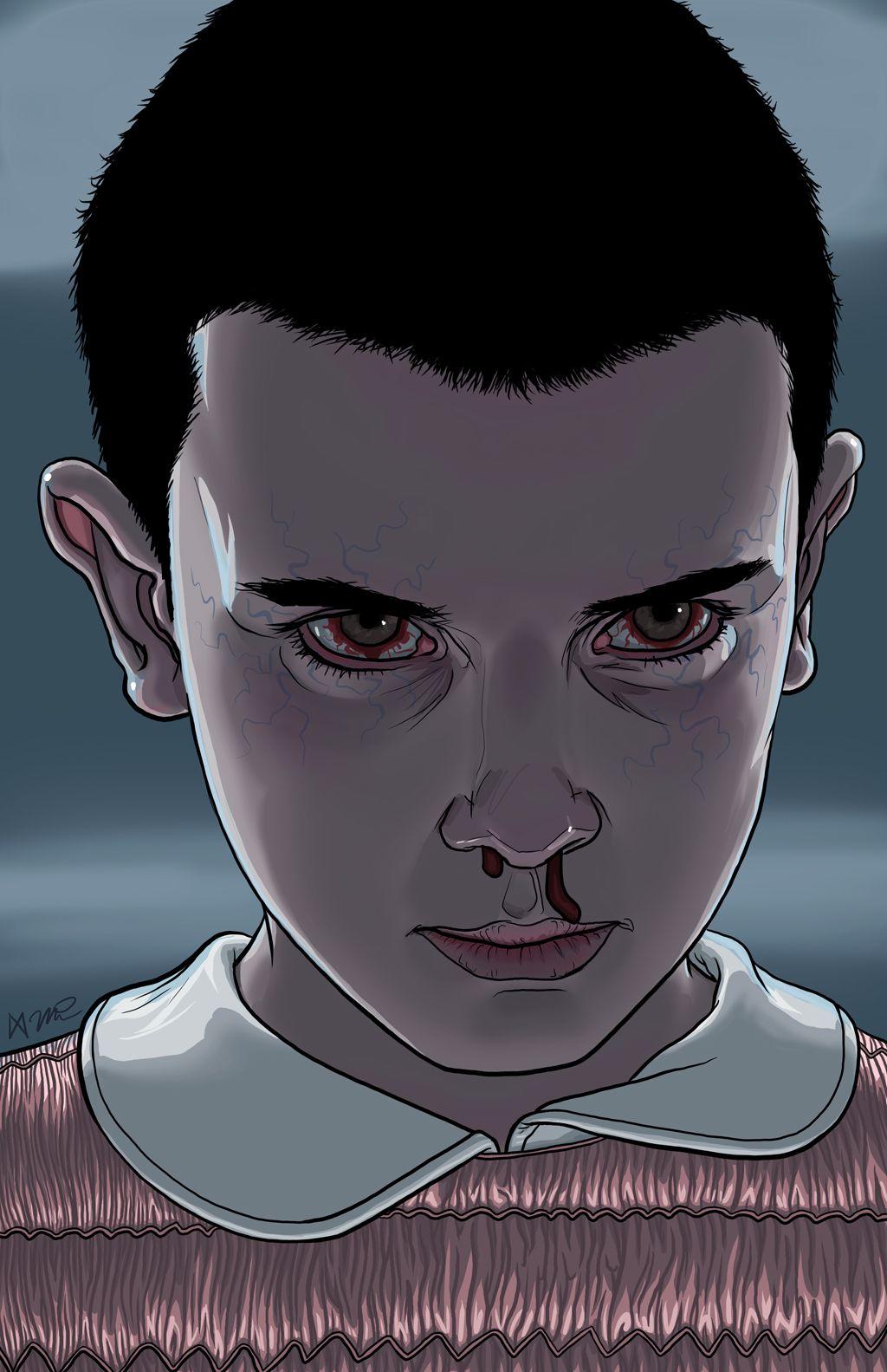 Eleven by Big Mike Walton #strangerthings https://plus.google.com/+LynseyTurner/posts ...