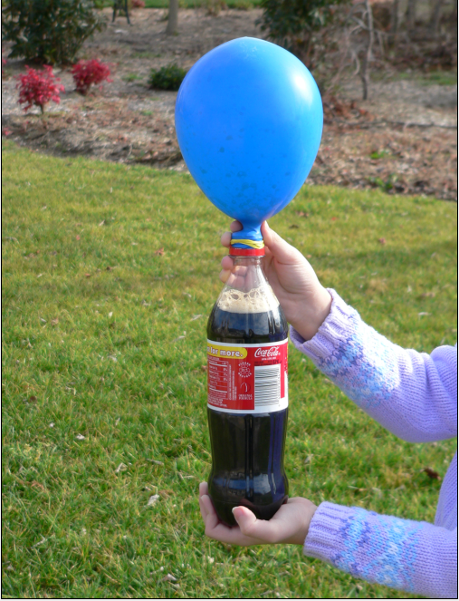 balloon and soda experiment balloons available at