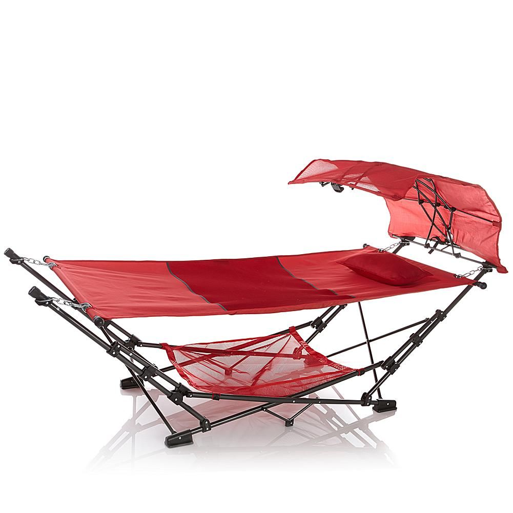 Perfect FieldSmith Collapsible Hammock With Air Mesh Pillow   8282139   HSN