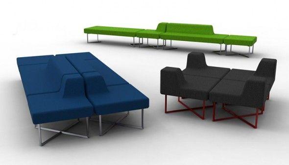 Delicieux Modular Seating Furniture Design Oliver JDD Collection Sets