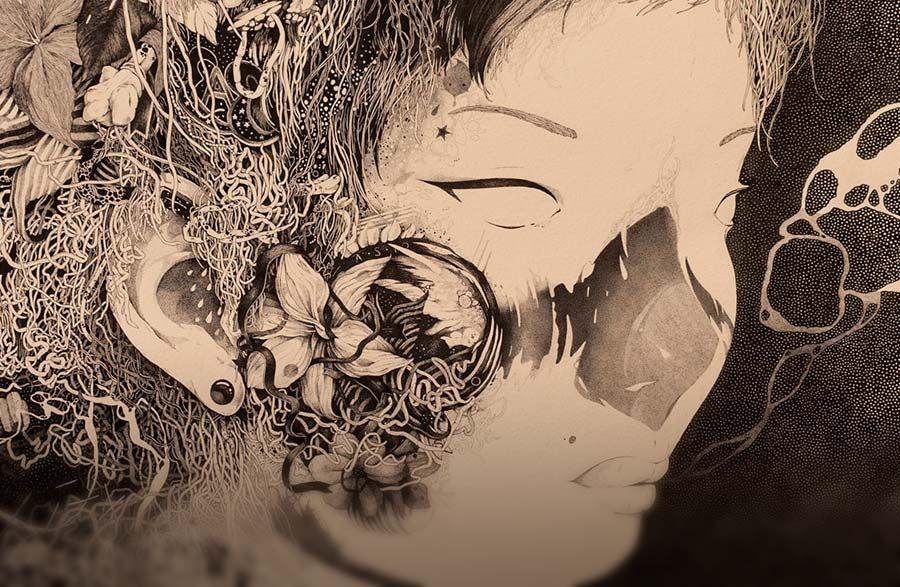 Destacado. Ilustración y dibujo surrealista de Benze Leer más: http://www.colectivobicicleta.com/2015/10/ilustracion-de-benze.html
